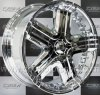 R22 ALL PCD Incubus Blunt E 385 Chrome